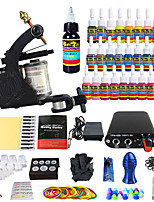 Solong Tattoo Beginner Tattoo Kit 1Pro Machine Guns Power Supply Needle Grips Tips US Dispatch
