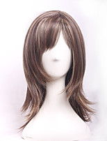 Anime Ombre Cosplay Short Wig Heat Resistant Pelucas Pelo Natural Boys Girls Cheap Perruque Synthetic Women Wigs