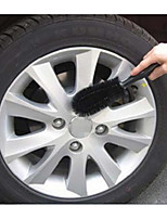 Tire Brush Head Car Brush Brush Cleaning Brush Bell Steel Tire Cleaning Supplies