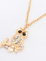 Fashion Exquisite Owl Necklace