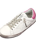 Women's Shoes Leatherette Comfort Flats Casual Flat Heel Others Black / Blue / Green / Pink / Gray