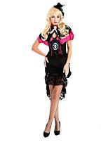 Cosplay-Noir-Costumes de cosplay-Pirates des Caraibes- pourFéminin