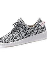 scarpe da uomo all'aperto / casuali scarpe da ginnastica di moda tulle nero / grigio