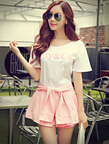 Pink Doll® Women's Above Knee Lace Up Pleated Pantskirt-X15BQK005