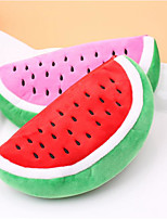 Lovely Watermelon Watermelon Cosmetic Pencil Cute Plush Stationery Bags