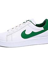 Da donna-Sneakers-Tempo libero / Casual / Sportivo-Creepers-Plateau-PU (Poliuretano)-Nero / Verde / Bianco