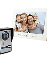 The 10 inch big screen 700 HD video intercom doorbell on a line