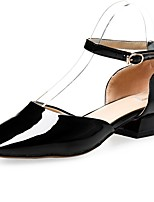 Women's Shoes Chunky Heel Square Toe Ankle Strap Pumps Shoes More Colors Available