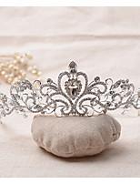 Dam Strass / Legering Headpiece-Bröllop / Speciellt Tillfälle Tiaror 1 st. Klar