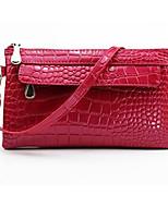 Women-Formal-PU-Shoulder Bag-Blue / Red / Black