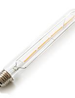 4W E26/E27 Ampoules Globe LED T 4 COB 380 lm Blanc Chaud Décorative / Etanches AC 100-240 V 1 pièce