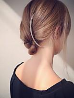 Vrouwen Licht Metaal Helm-Speciale gelegenheden / Informeel / Buiten Haarkammen / Haarclip / Haarspeld 1 Stuk Goud Onregelmatig 7