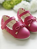 Baby Shoes Outdoor PU Flats Blue / Pink / Red