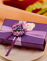 Cajas de regalos(Uva,Papel de tarjeta) -Tema Clásico / Tema Fantástico-Matrimonio / Aniversario / Despedida de Soltera