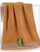 1pc bambou main fibre serviette 13