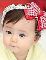 Girls Hair Accessories,All Seasons Cotton Blends Pink / Red / Beige
