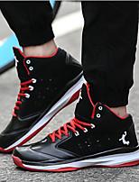Zapatos Baloncesto Sintético Negro / Azul / Blanco / Gris / Negro y Rojo Hombre