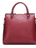 Women-Formal-PU-Shoulder Bag-Pink / Red