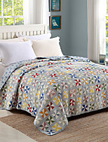 100% Cotton Patchwork 1 piece Quilted Bedspread set,Twin Size