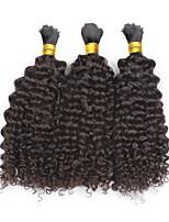 3pcs/lot Kinky Curly Hair Bulk 12