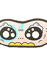 Travel Sleeping Eye Mask Type 0006 Fake Cute Eyes Polyester-cotton blend