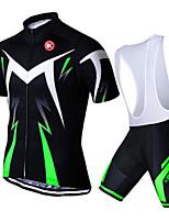 KEIYUEM Ciclismo Sets de Prendas/Trajes Unisex BicicletaTranspirable / Secado rápido / A prueba de polvo / Listo para vestir / Compresión