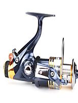 Molinetes Rotativos 5.1/1 10 Rolamentos Trocável Isco de Arremesso / Pesca Geral-SW5000 Diaodelai