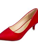 Homme-Décontracté-Noir / Rouge / Blanc-Talon Aiguille-Talons-Chaussures à Talons-Polyuréthane
