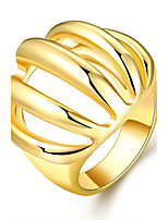 2016 Fashion Exquisite Personality 18K Gold Plated Ring Gift For Women