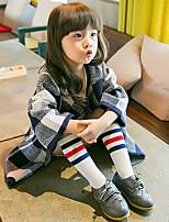 Girls Socks & Stockings,All Seasons Organic Cotton Black / White / Gray