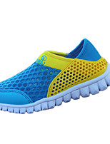 Per bambino-Sneakers-Tempo libero / Casual-Punta arrotondata-Piatto-Tulle-Giallo / Arancione