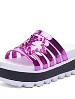 Women's Shoes Patent Leather Platform / Gladiator / Slippers Sandals Outdoor / Dress / Casual Platform Sparkling Glitter
