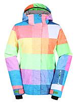 Gsousnow women fashion ski suit /snowboard jackets/double snowboard jackets/windproof waterproof ski-wear/