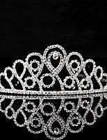 Mujer Diamantes Sintéticos Celada-Boda / Ocasión especial Tiaras 1 Pieza
