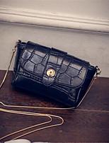 Women-Formal-PU-Shoulder Bag-Brown / Black