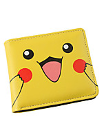Pocket Little Monster Cartoon Pocket Little Monster Pika Pika Short Wallet-B