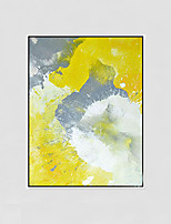 Hand-Painted Abstract Modern,One Panel Canvas Oil Painting