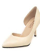 Women's Shoes PU Summer Heels Heels Casual Stiletto Heel Others Black / Nude