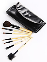 7 Sets Of Cosmetic Brush Professional Makeup Brush Set Brush Bag