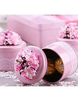 1 Piece/Set Favor Holder-Cylinder Metal Candy Jars and Bottles Non-personalised