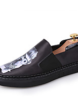 Men's Shoes Casual/Party/Office & Career/Drive Fashion Casual Oxfords PU Leather Loafers EU38-EU43