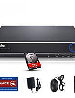sannce® 4 canales 720p multi-modo DVR HDMI de entrada eCloud sistema de circuito cerrado de televisión 1080p / VGA / BNC disco duro