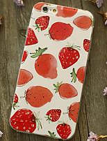 indietro Resistente agli urti Frutta TPU Morbido Shockproof Copertura di caso per AppleiPhone 6s Plus/6 Plus / iPhone 6s/6 / iPhone