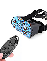 VR 3D Video Headset Glasses + Bluetooth Controller for 4.7~6