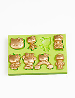 Multi Hello Kitty Mould Silicone Candy Mold for Chocolate Polymer Clay Making Sugarcraft Tools Fondant Cake Decorations