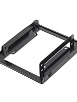 2.5 Inches To 3.5 Inches Hard Drive Mounting Kit Adapter Bracket For Desktop PC Computer-Black