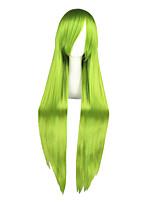 Perruques Cosplay-Grell Sutcliff-Bonne étoile-Vert-100