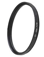 EMOBLITZ 43mm UV ultravioleta filtro protector de lente negro
