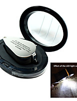 40X All-Metal High-resolution Magnifying Glass Magnifier Microscope With LED Currengy Detecting