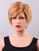 New Fashion Chic Short Layered Lace Front Human Hair